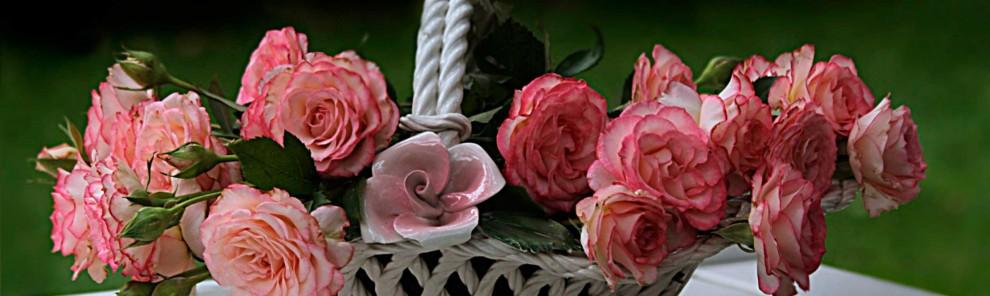 Cestas de flor